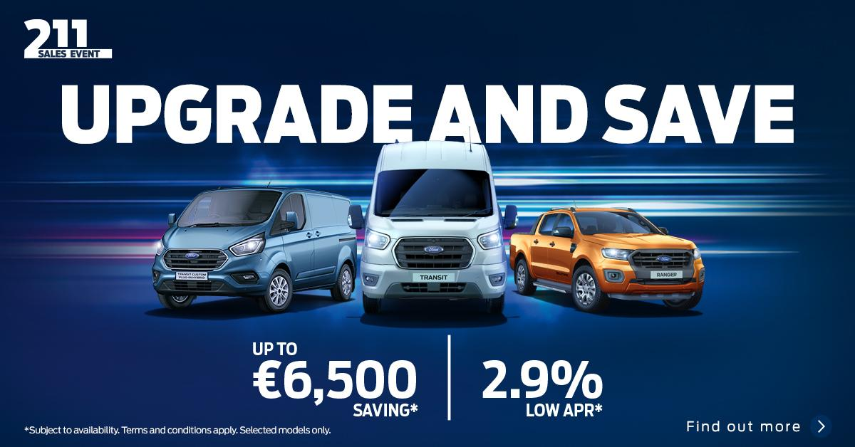 Upgrade and Save - New Ford Commercial Vehicles