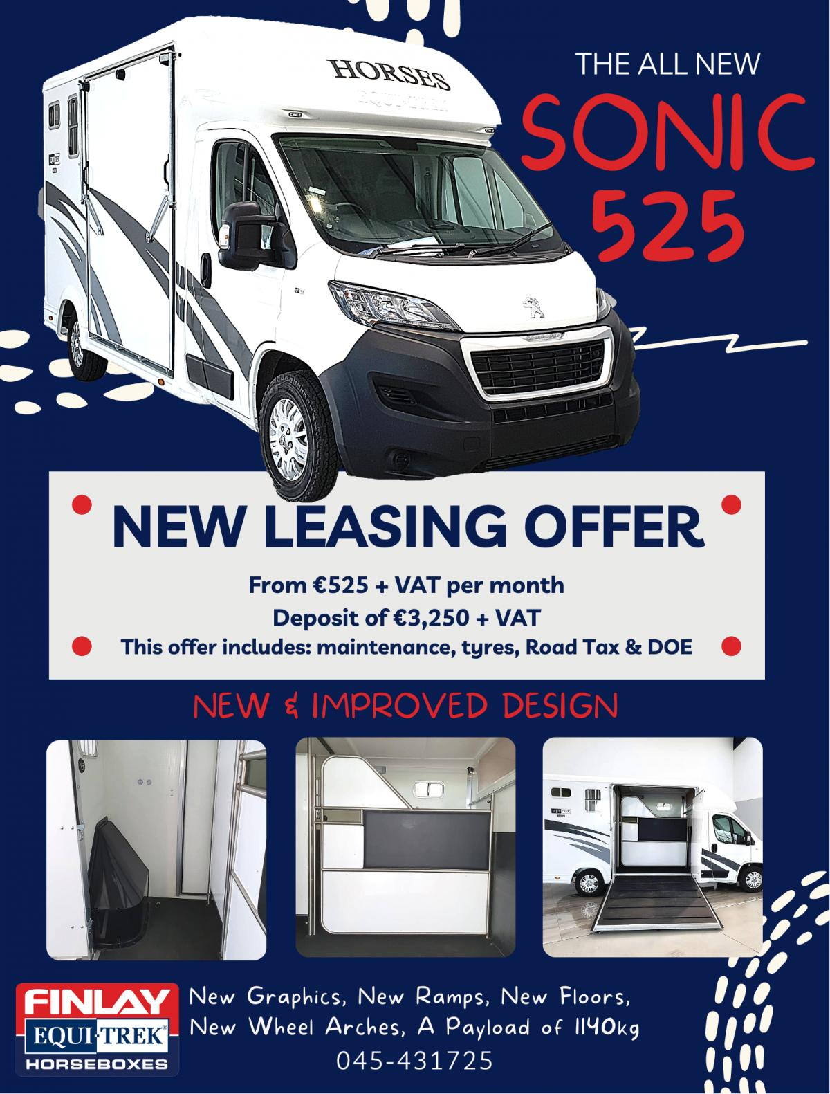 SONIC 525 Leasing Offer
