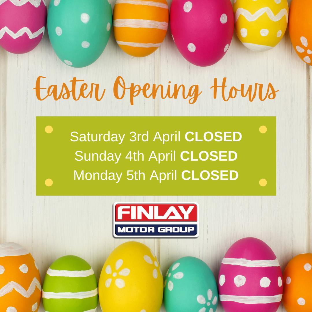 Easter Weekend Opening Hours