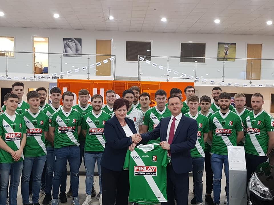 Finlay Motor Group Continue Partnership with Sarsfields GAA Senior Team